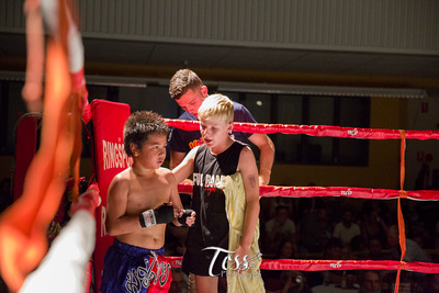 Mauy Thai Fight Night Cooktown by Tess Photography